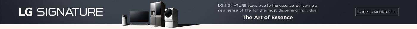 LG banner ad
