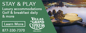 Villas of Grand Cypress ad