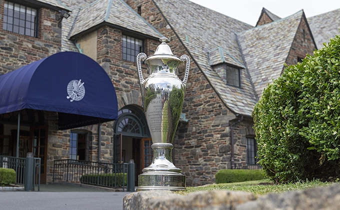 The Westchester Amateur Championship's Paul Adler Trophy at Winged Foot Golf Club