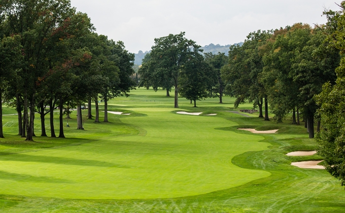 Canoe Brook Country Club's 18th Hole on the North Course