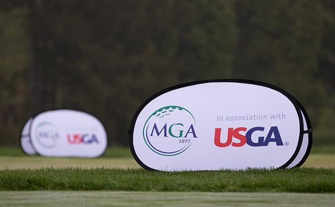 MGA and USGA pop up banner