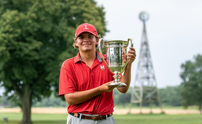 Will Celiberti and the Mandeville Trophy