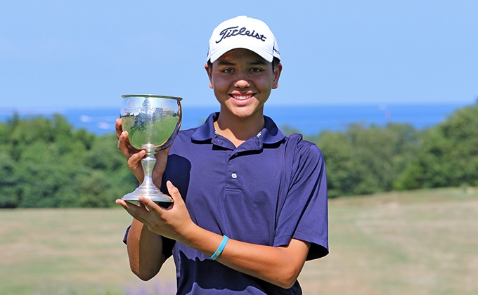 Winner of the 50th MGA/MetLife Boys Championship.