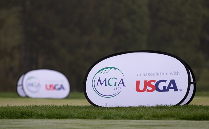 MGA-USGA Pop-Up Banner