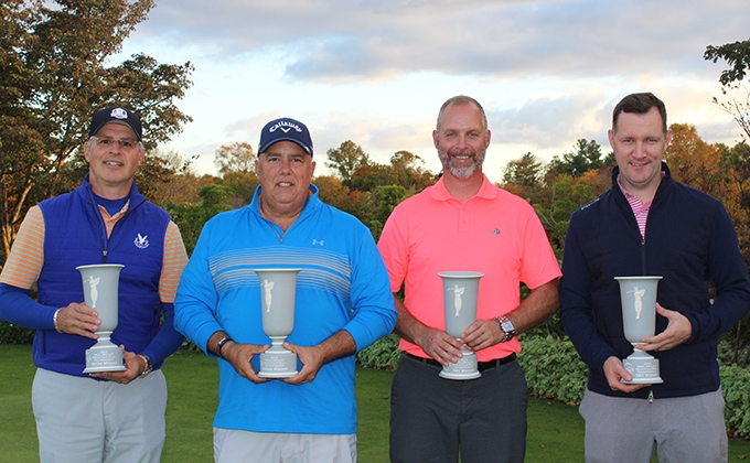 Winners of the MGA/MetLife Men's Four-Ball Championship