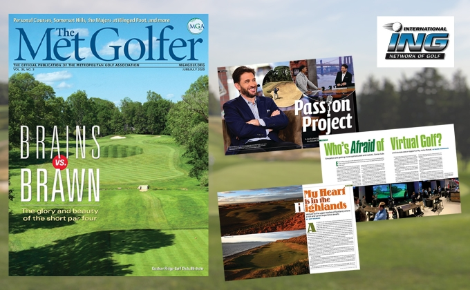 The Met Golfer Cover and articles