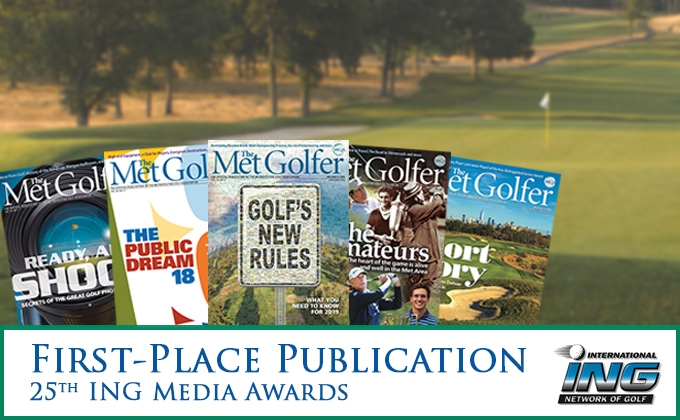 Met Golfer Magazine Covers