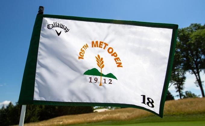 105th Met Open flag