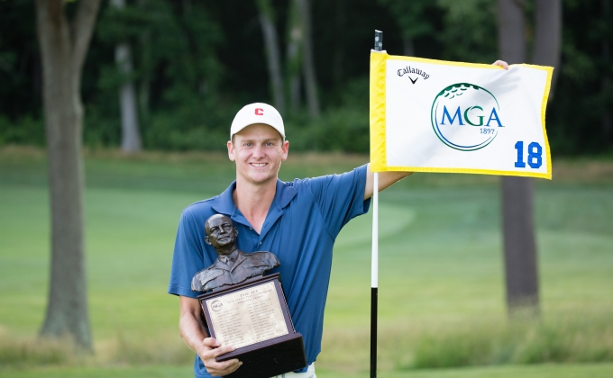 Winner of 63rd Ike MGA Stroke Play Championship