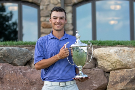 Ryan Davis with Met Amateur Trophy