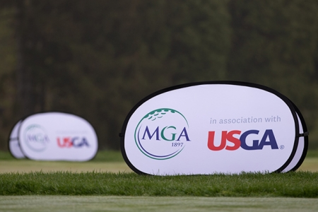 MGA and USGA pop up banner
