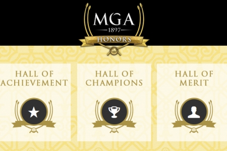 MGA Honors, Hall of Achievement, Hall of Champions, Hall of Merit