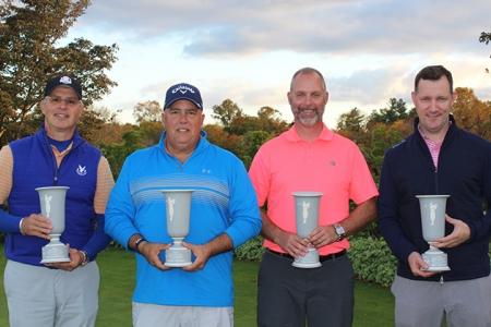 Winners of the MGA/MetLife Men's Four-Ball Championship
