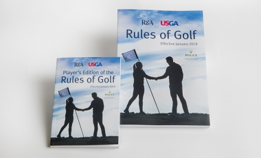 2019 Rules of Golf Books
