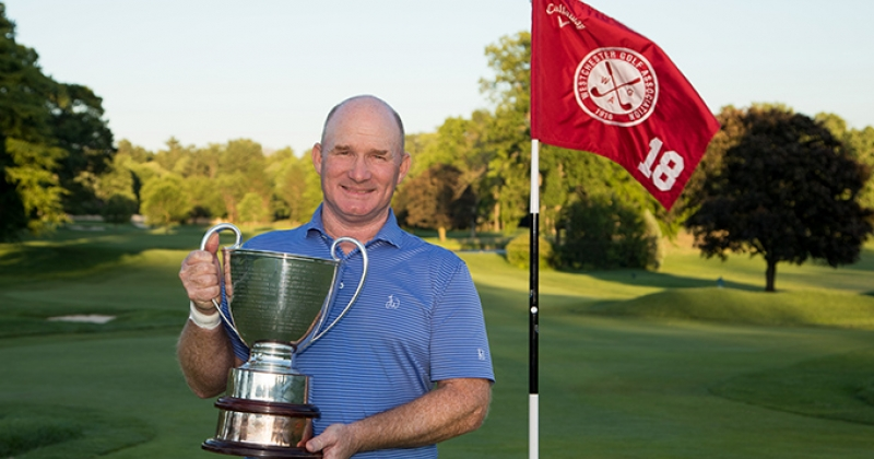 Frank Bensel, winner of the 97th Westchester Open Championship